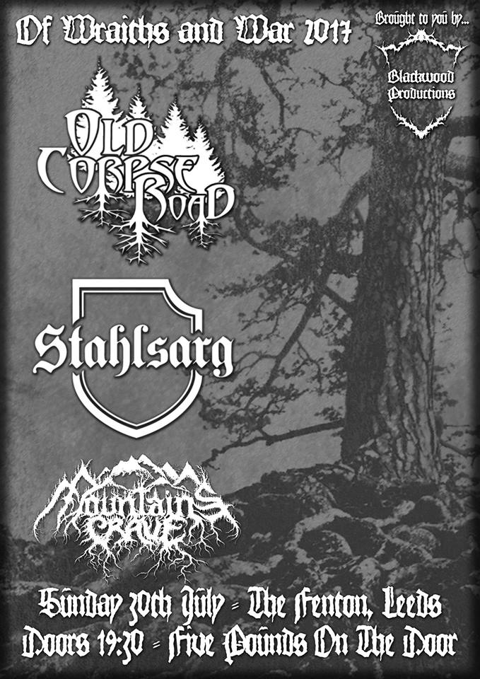 Of Wraiths and War - Old Corpse Road/Stahlsarg/Mountains Crave Live at The Fenton Leeds 00, Jul 30