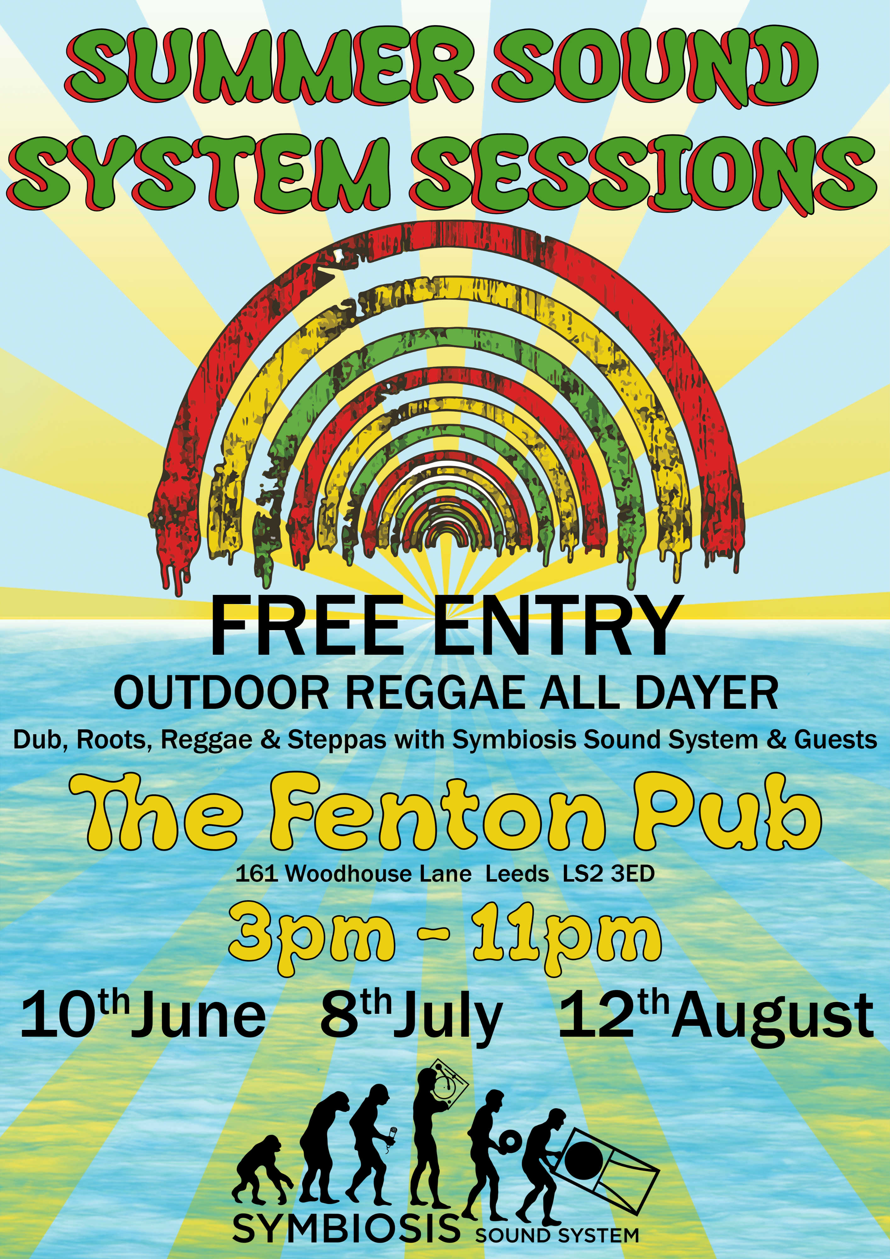 Reggae All Dayer Live at The Fenton Leeds 00, Aug 12