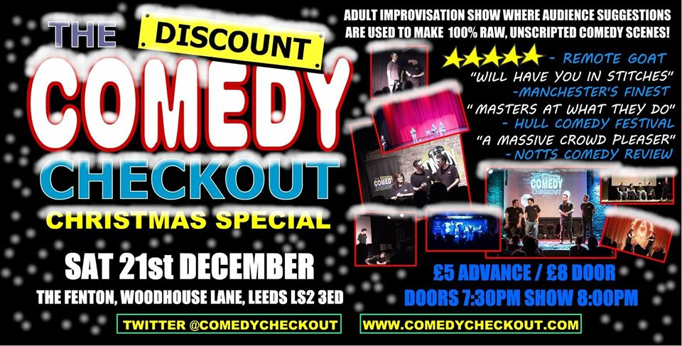 The Discount Comedy Checkout - Christmas Special Live at The Fenton Leeds 00, Dec 21